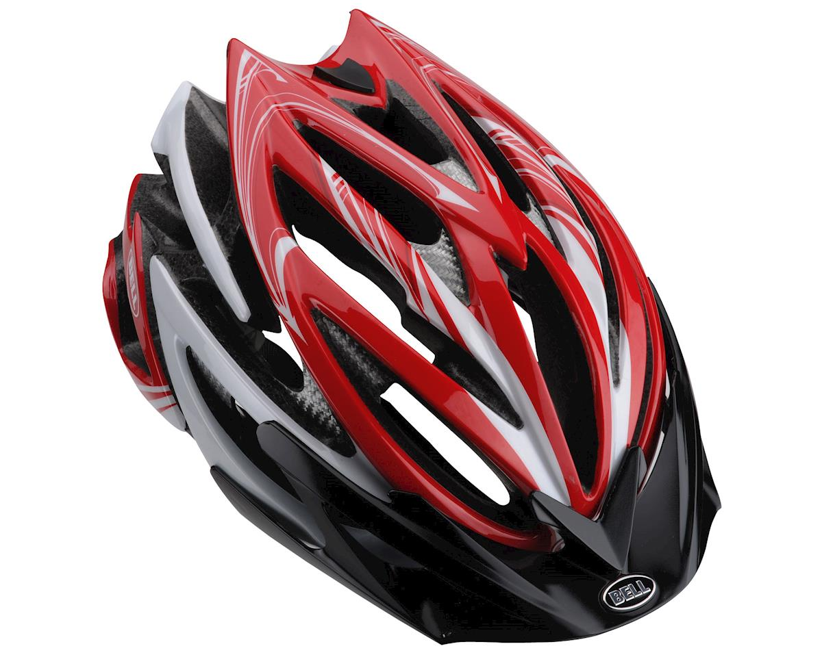 Image 5 for Giro Bell Volt Road Helmet - Closeout (Red White Script) (Small)