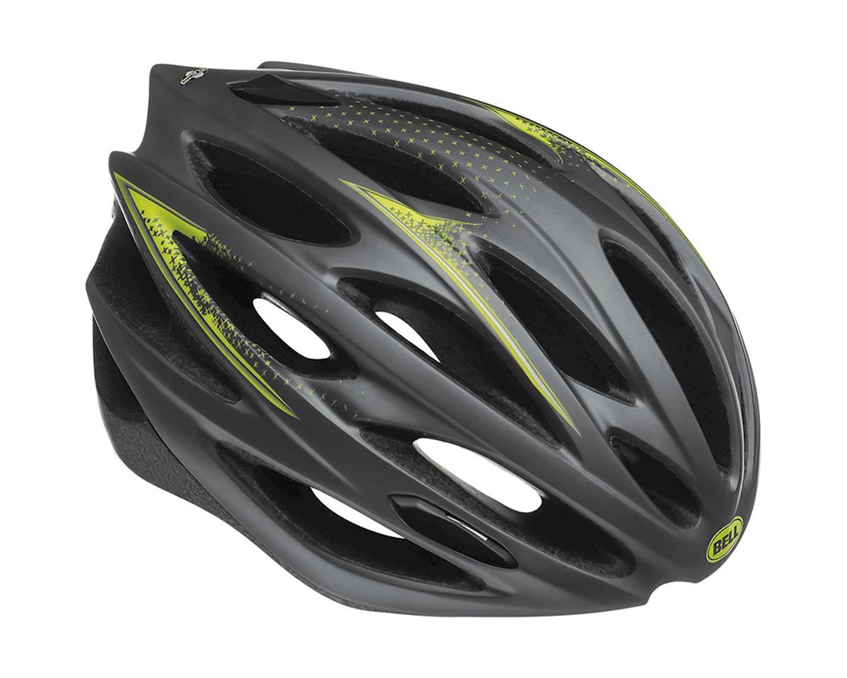 "Giro Bell Lumen Road Helmet - Closeout (Matte Titanium Hi-Vis Yellow Charged) (Small 20.5-22"")"