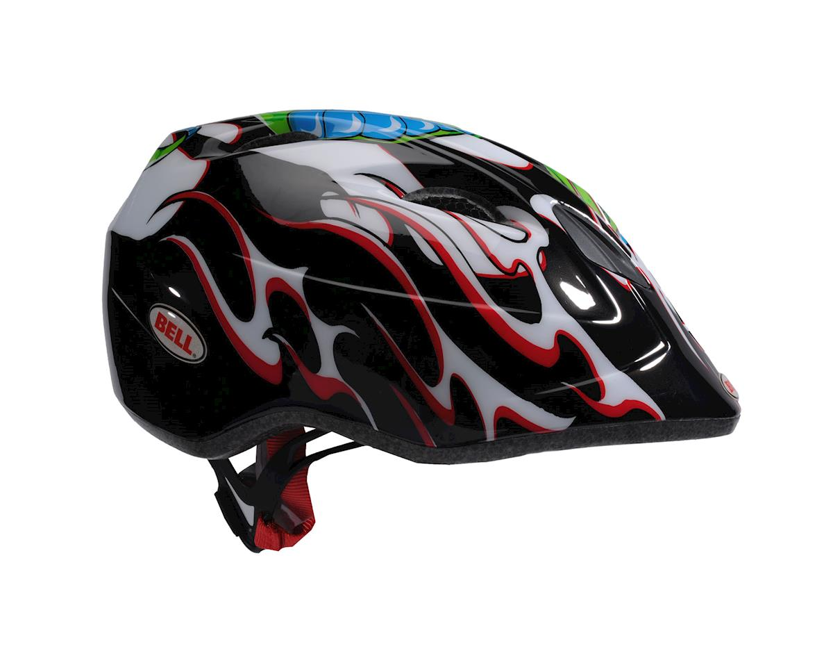 Image 2 for Giro Bell Tater Toddler Helmet (Black Red Snakebite)