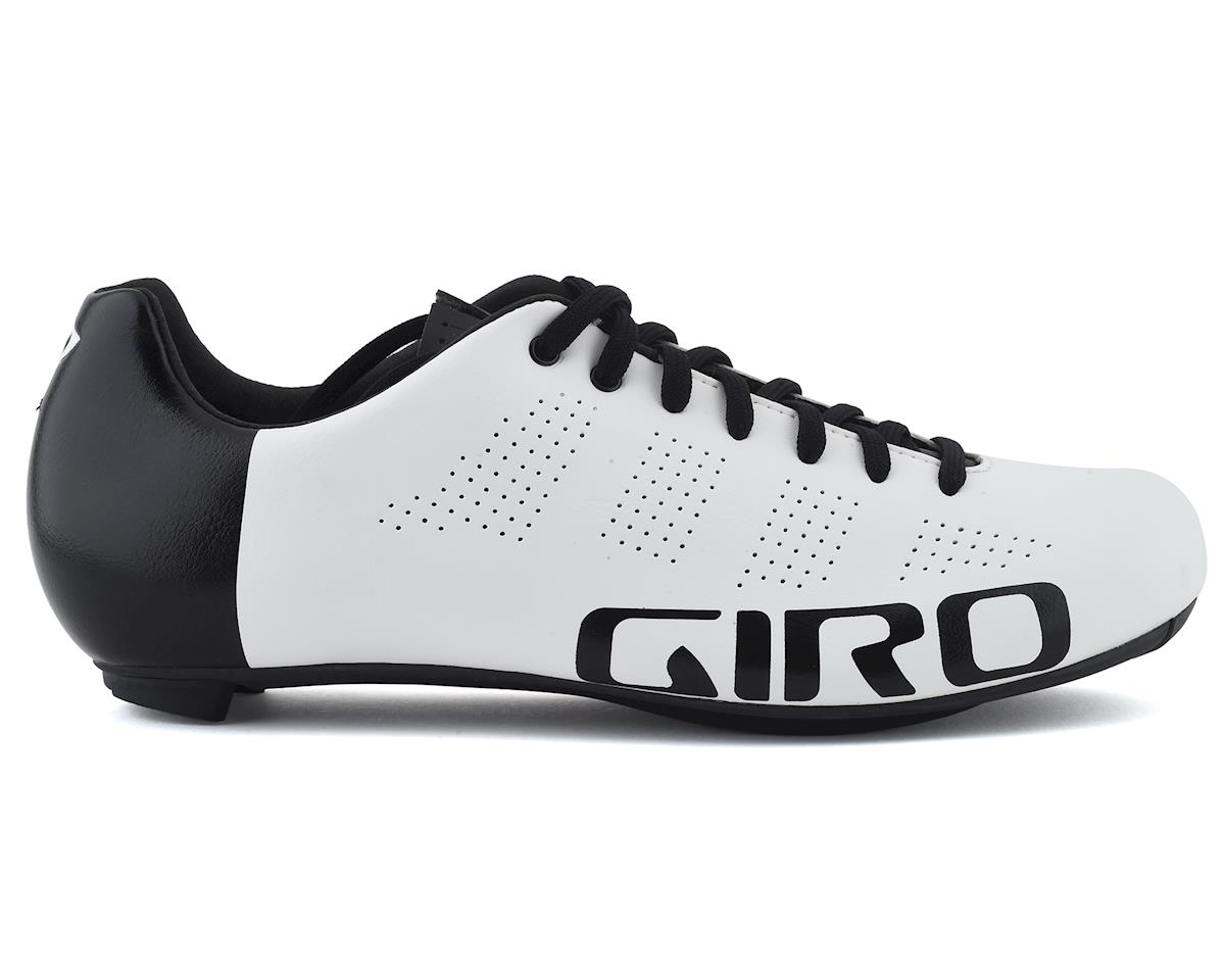 Giro Empire ACC Lace-Up High Performance Bike Shoes (White/Black) (45)
