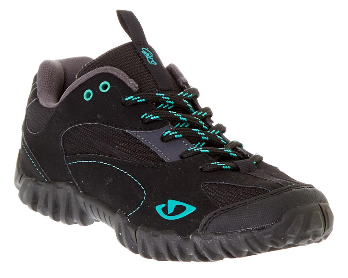 Giro Petra Women's Cycling Shoe (Black/Dynasty Green)