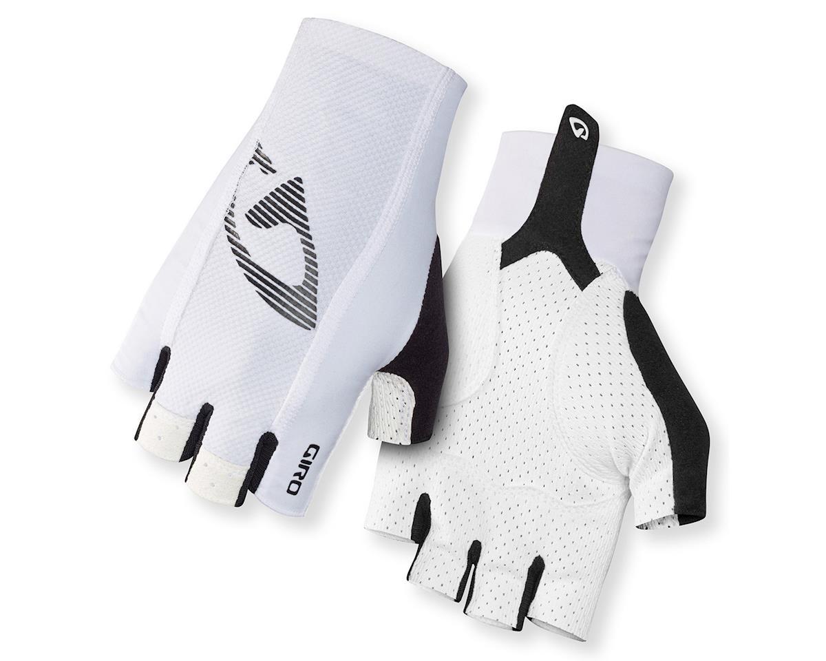 Giro LTZ II Professional Bike Gloves (Mono White) (M)