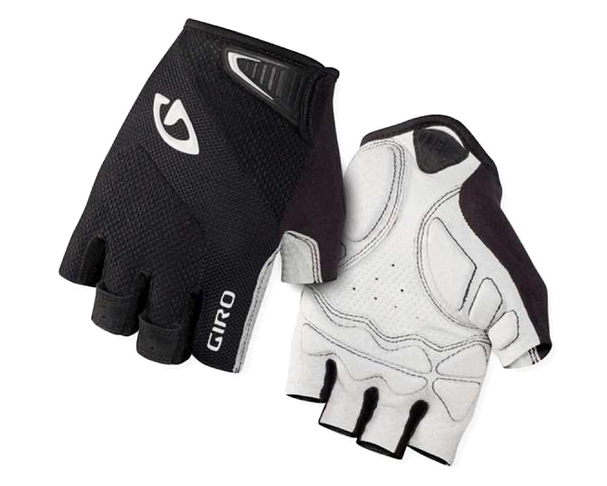 Monaco Short Finger Bike Gloves (Black/White)
