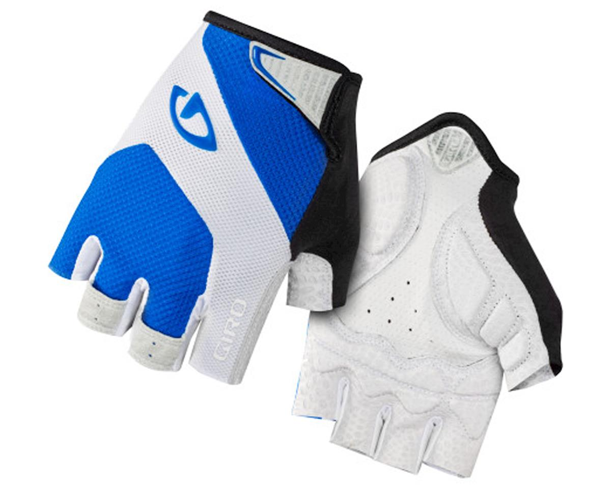 Giro Monaco Short Finger Bike Gloves (Blue/White) (S)