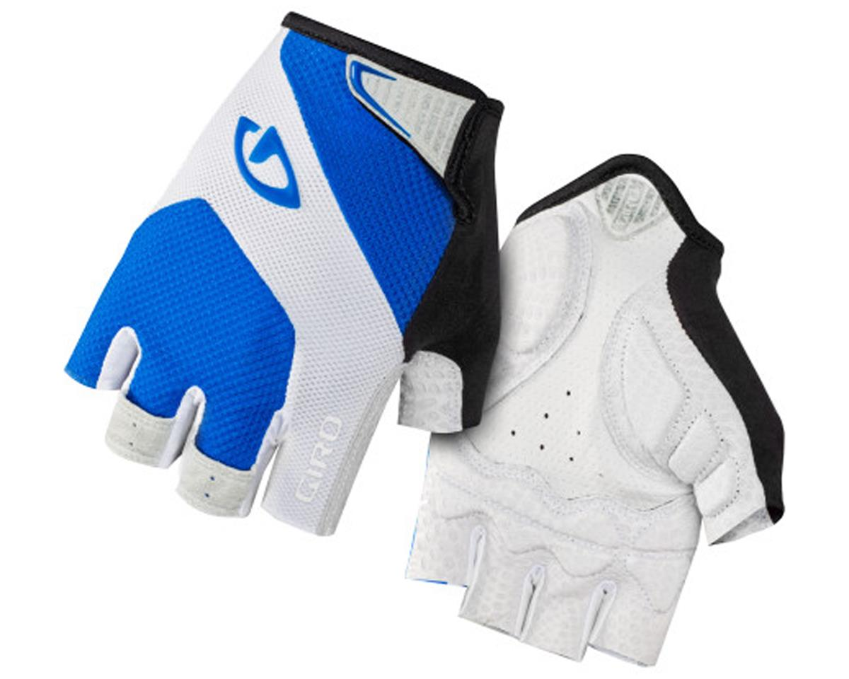 Giro Monaco Short Finger Bike Gloves (Blue/White) (L)