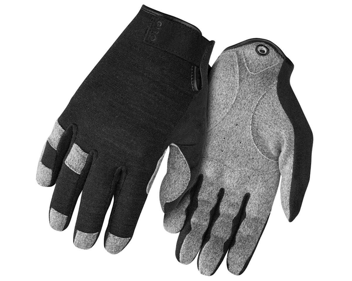 Giro Hoxton Long Finger All Season Bike Gloves (Black Heather) (XL)