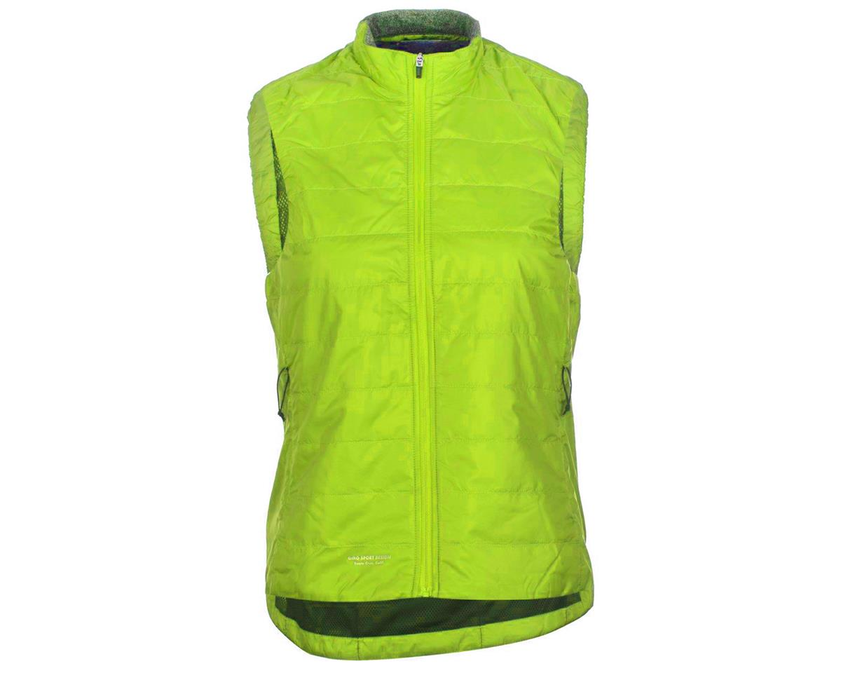 Giro Women's Insulated Vest (Wild Lime) (XS)