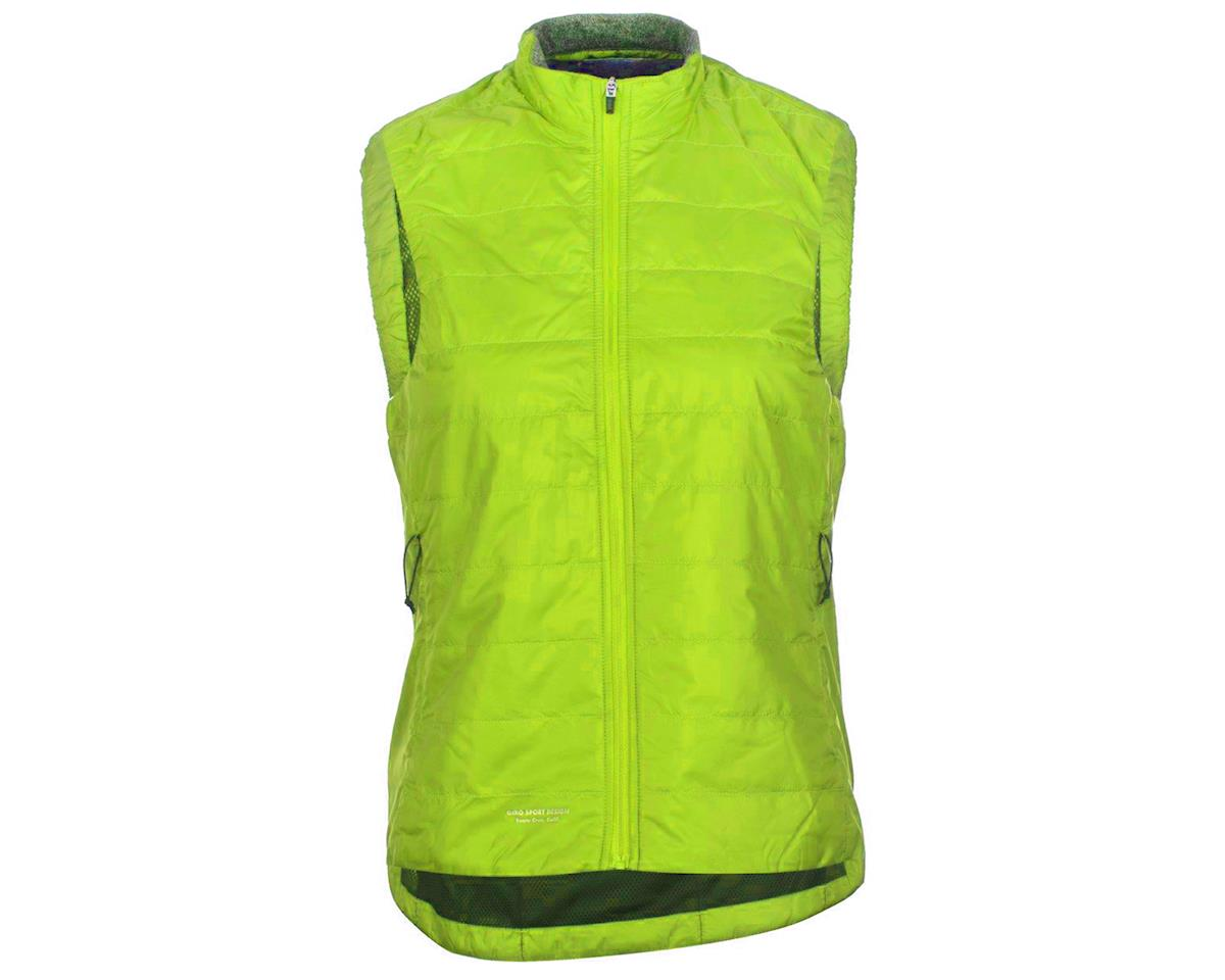 Giro Women's Insulated Vest (Wild Lime) (L)