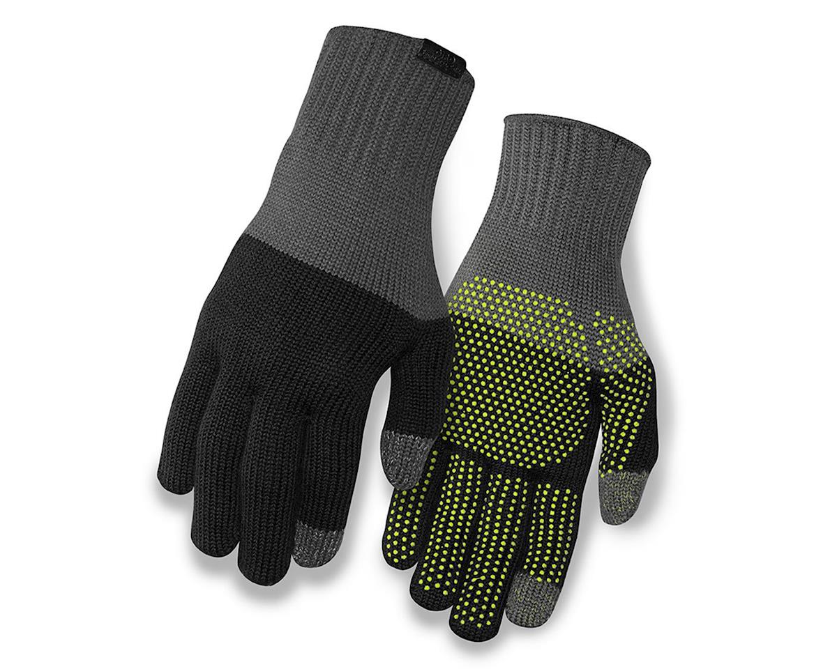 Giro Merino Wool Bike Gloves (Gray/Black) (L/XL)