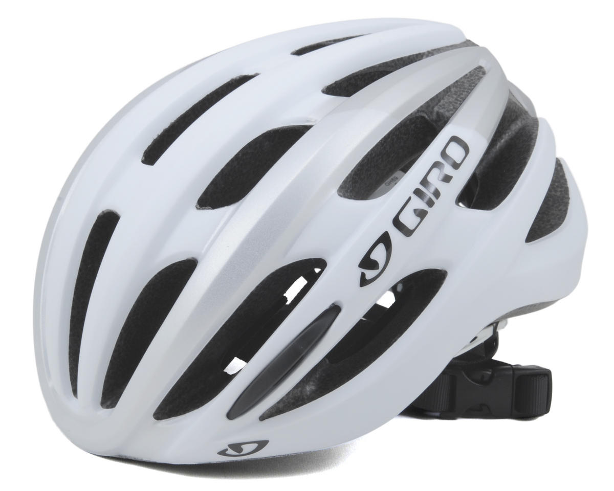 Giro Foray Road Helmet (Matte White/Silver) (L)