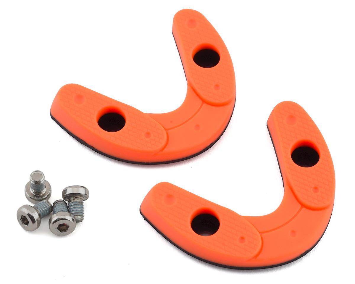 Giro Road Heel Pad Set (Flourescent Orange) (45-46.5)