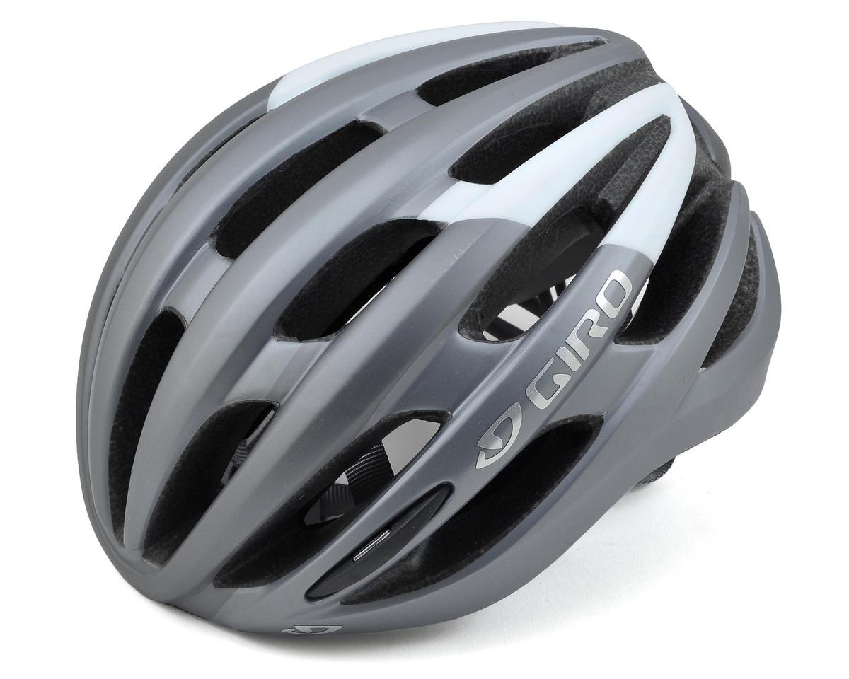 Giro Foray Road Helmet (Matte Titanium/White)
