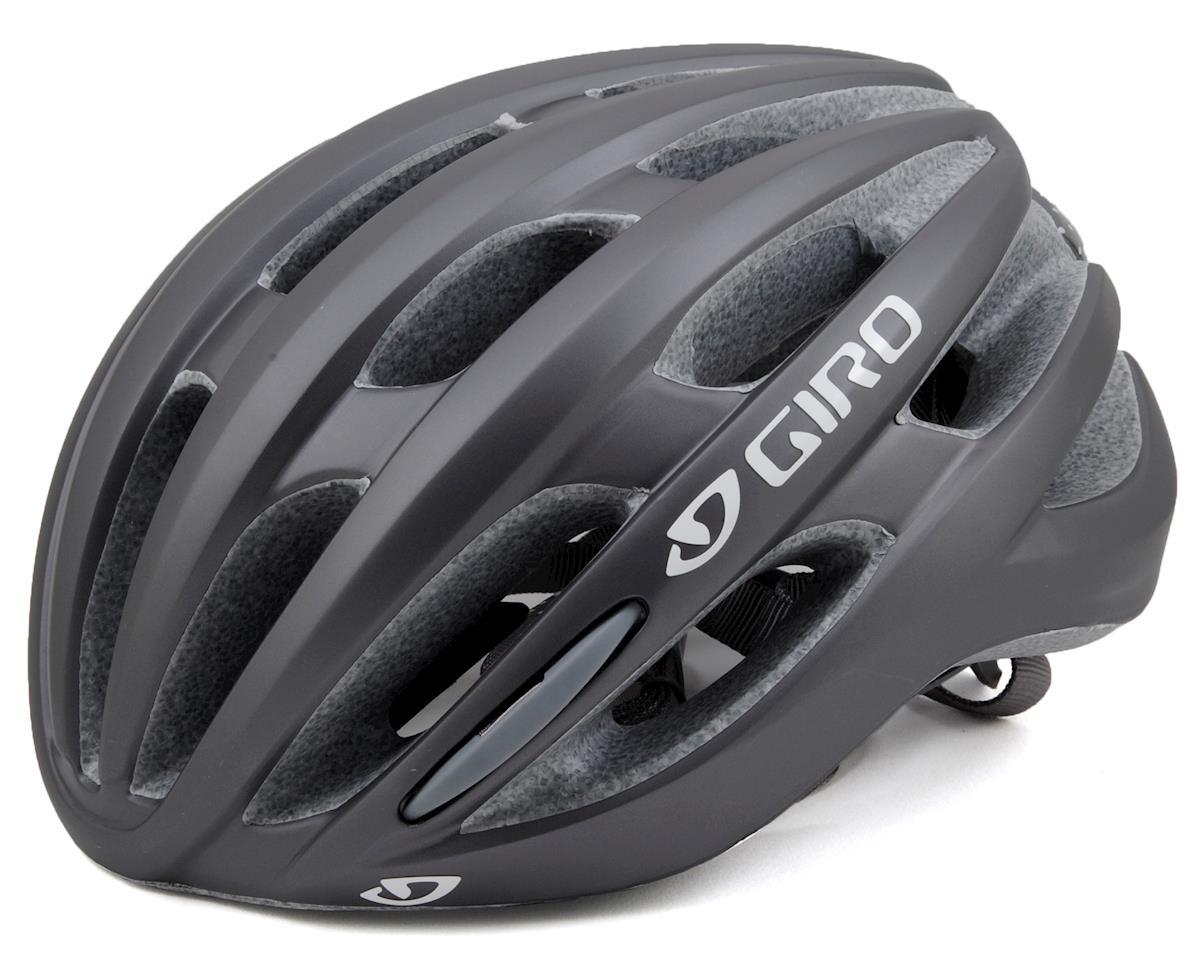 Giro Saga Womens Road Helmet (Matte Titanium Dots) (S)