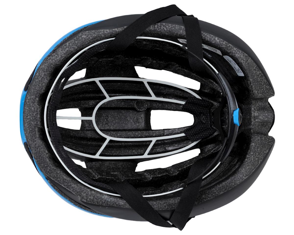 Giro Synthe Road Helmet (Matte Black/Blue) (M)
