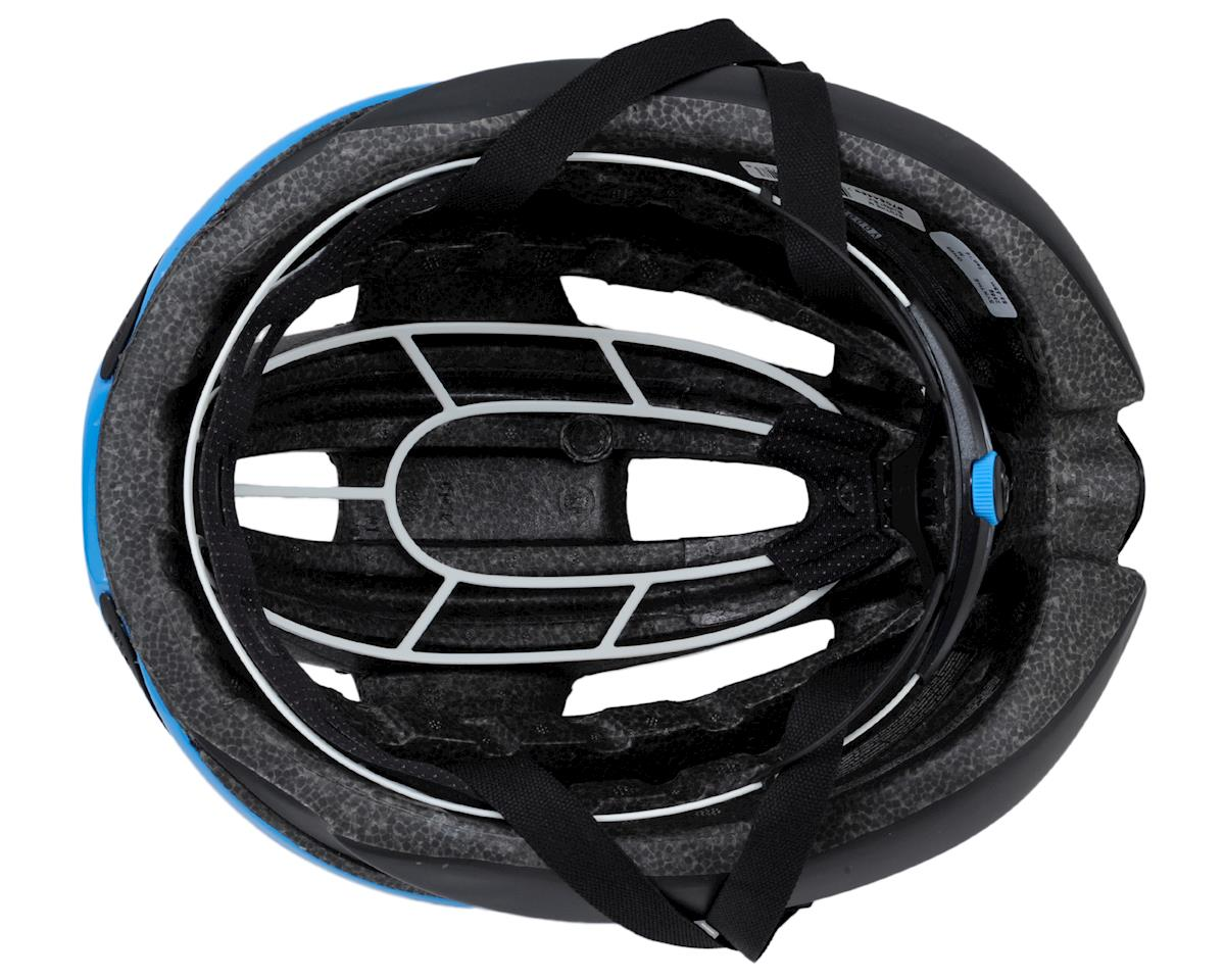 Giro Synthe Road Helmet (Matte Black/Blue) (L)