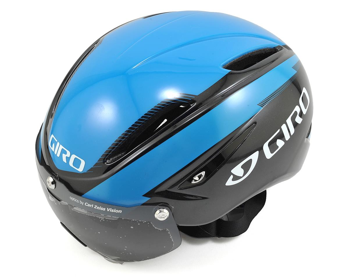 Giro Air Attack Shield Aero Road Helmet (Blue/Black)