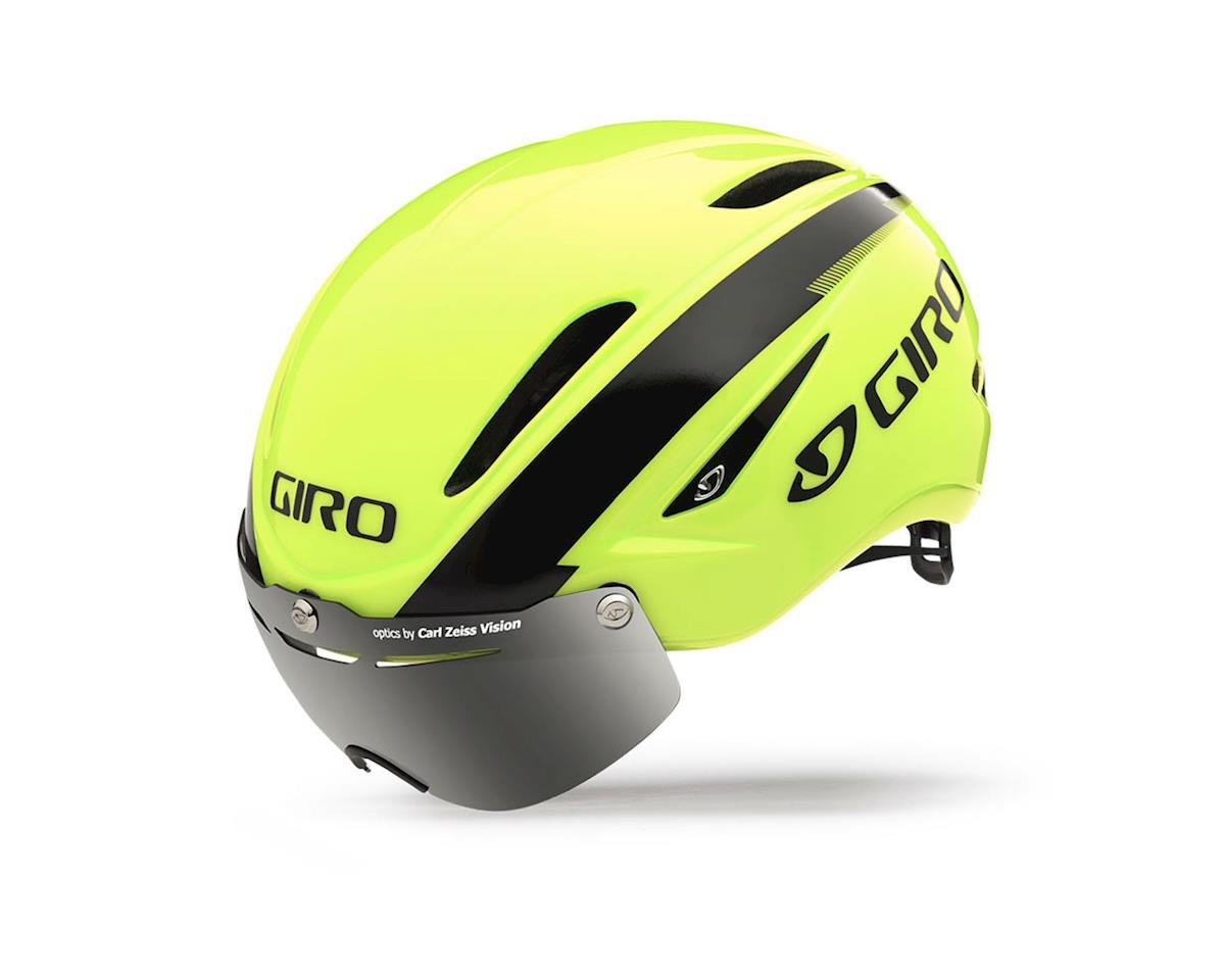 Giro Air Attack Shield Bike Helmet - Discontinued Color (Higlight Yellow/Black)