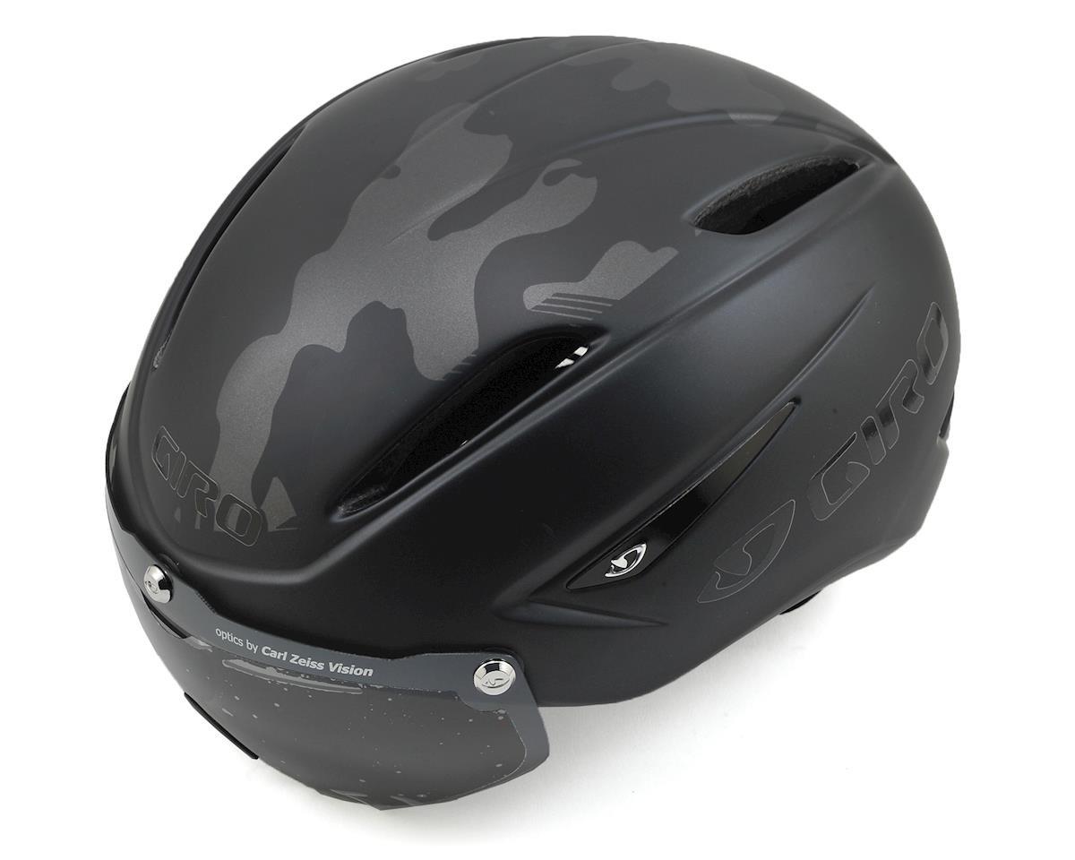 Image 1 for Giro Air Attack Shield Aero Road Helmet (Matte Black Camo)