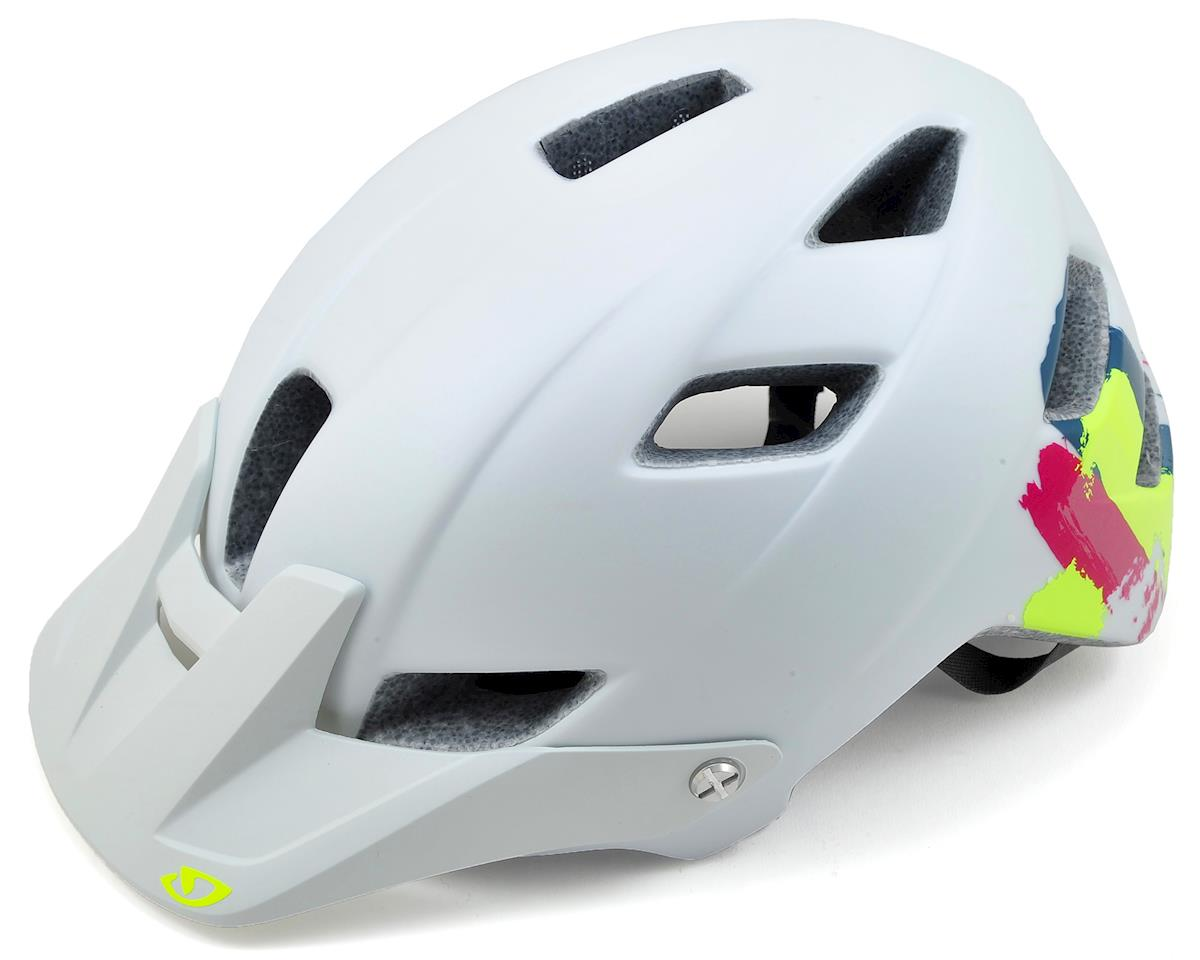 Giro Feather Womens MTB Helmet (White Brush Strokes)