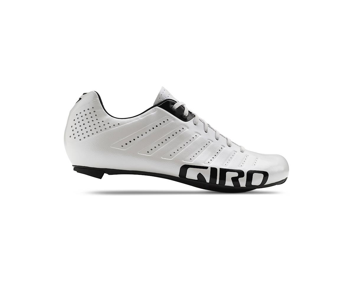 Giro Empire SLX Lace-Up Bike Shoes (White/Black) (39)