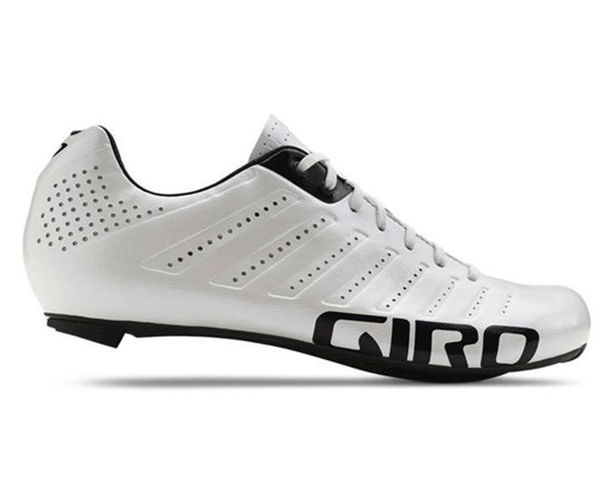 Giro Empire SLX Lace-Up Bike Shoes (White/Black) (41)