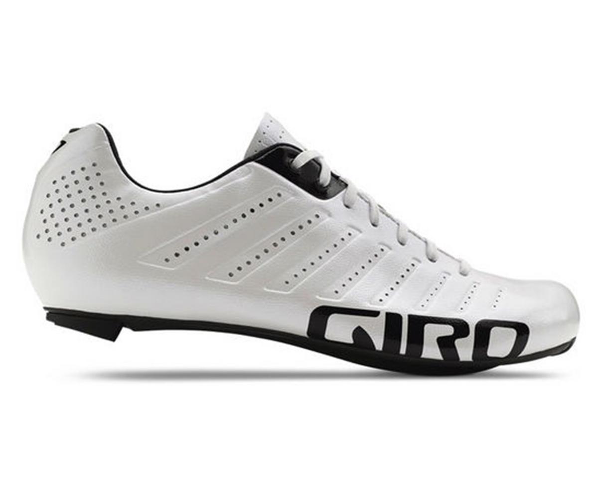 Giro Empire SLX Lace-Up Bike Shoes (White/Black) (43.5)