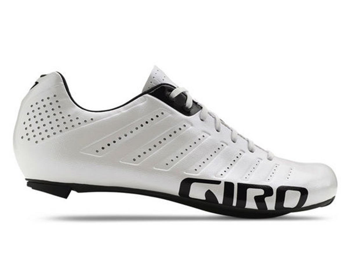 Giro Empire SLX Lace-Up Bike Shoes (White/Black) (46)