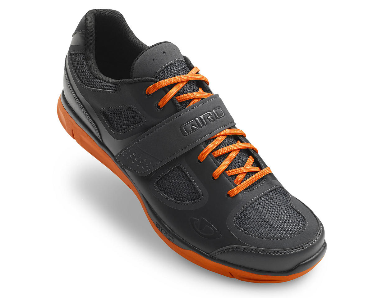 Giro Grynd Shoes (Dark Shadow/Glowing Red) (46)