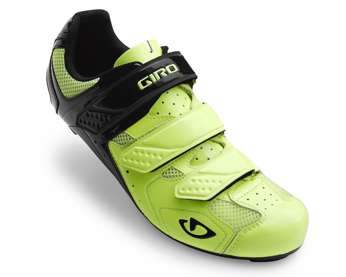 Giro Treble II Bike Shoes (Hi Yellow/Matte Black) (41)