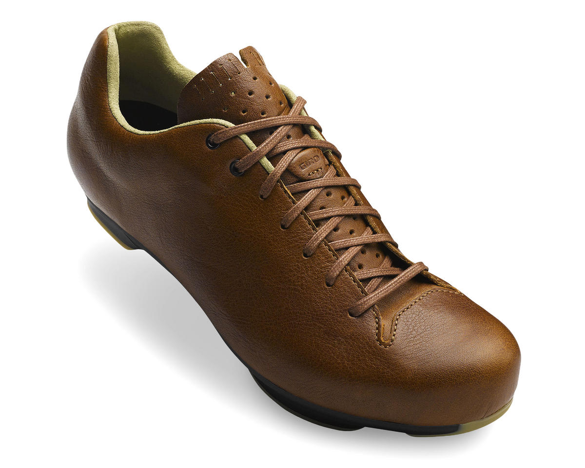 Giro Republic LX Bike Shoes (Sepia Leather/Black) (45)