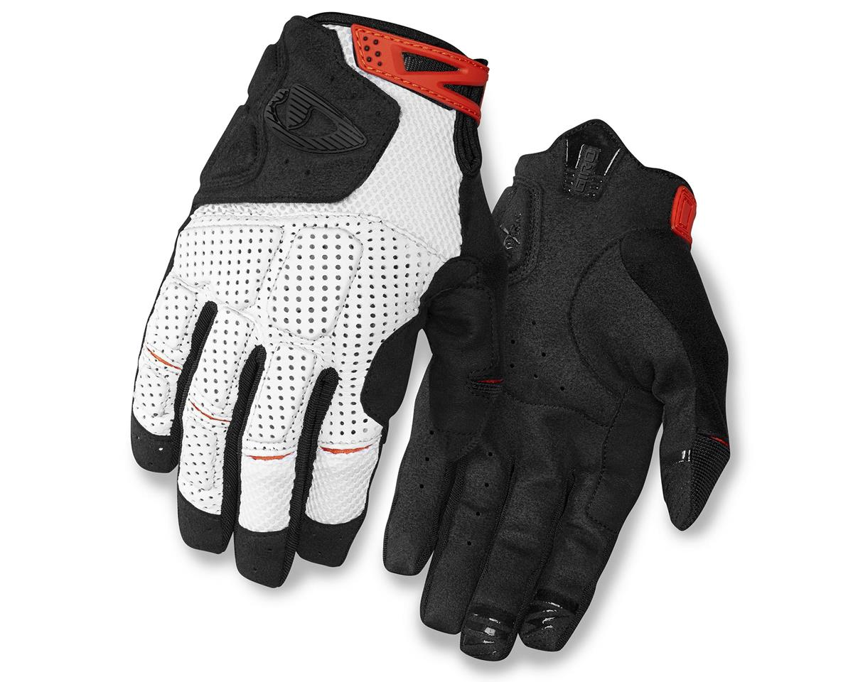 Giro Remedy X Long Finger Bike Gloves (White/Black) (S)
