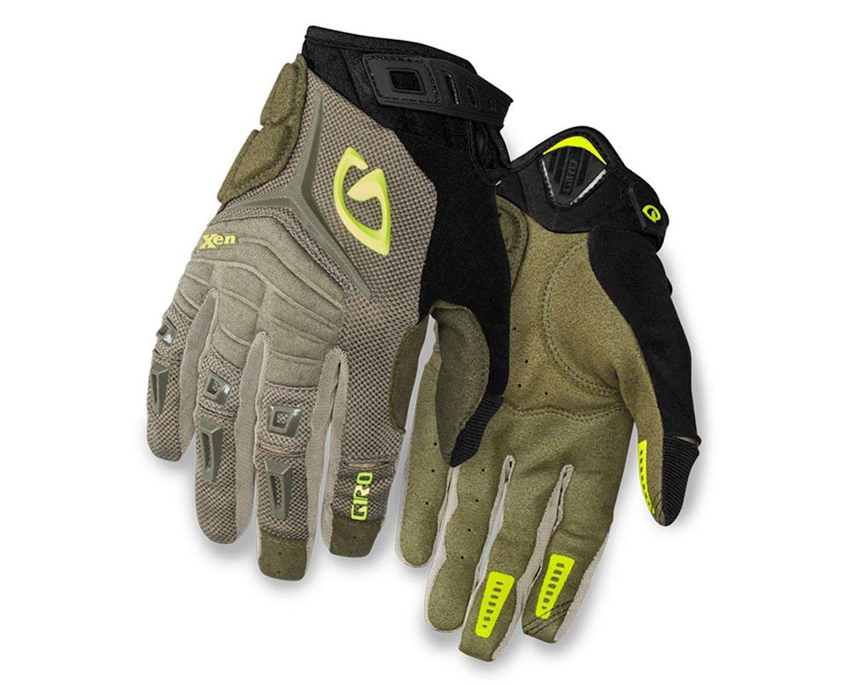 Giro Xen Bike Gloves (Mil Spec/Hi Yellow)