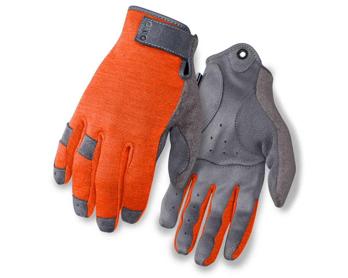 Giro Hoxton Long Finger All Season Bike Gloves (Glowing Red)