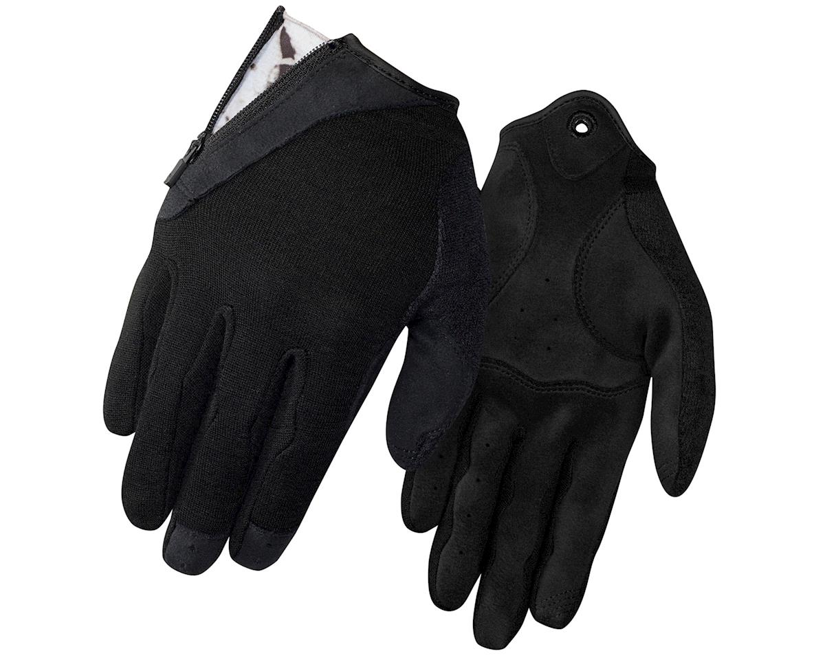 Giro Rulla Long Finger Women's Bike Gloves (Black) (L)