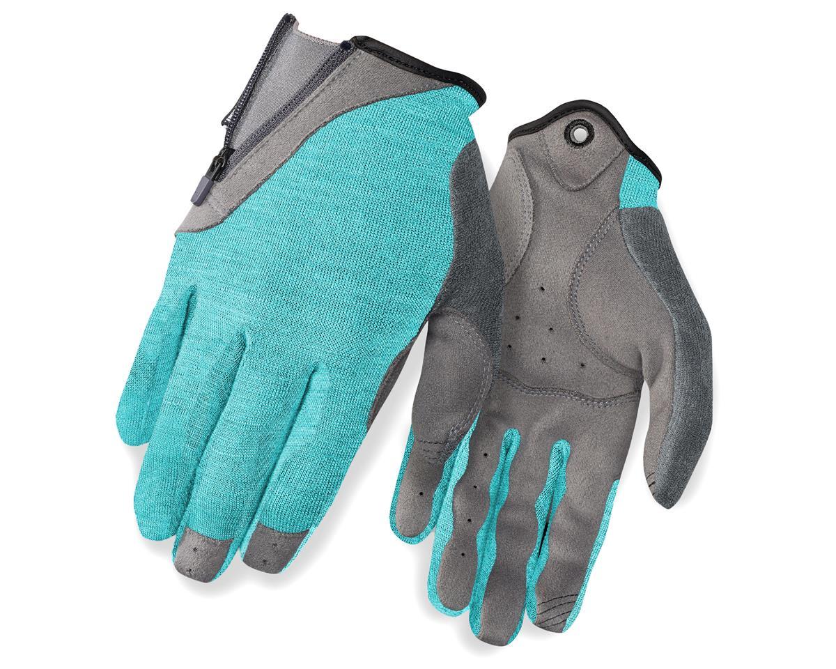 Giro Rulla Long Finger Women's Bike Gloves (Industrial Green/Ti) (S)