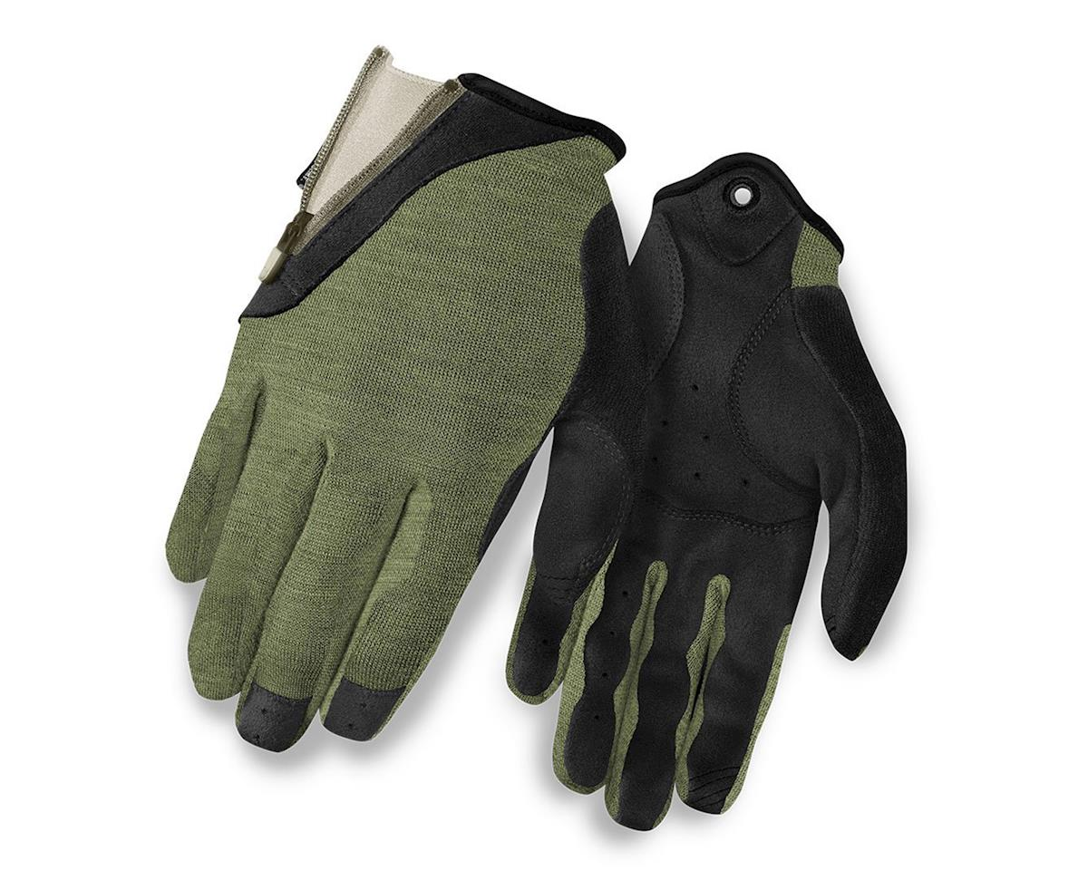 Giro Rulla Long Finger Women's Bike Gloves (Military Spec/Sea Glass) (L)