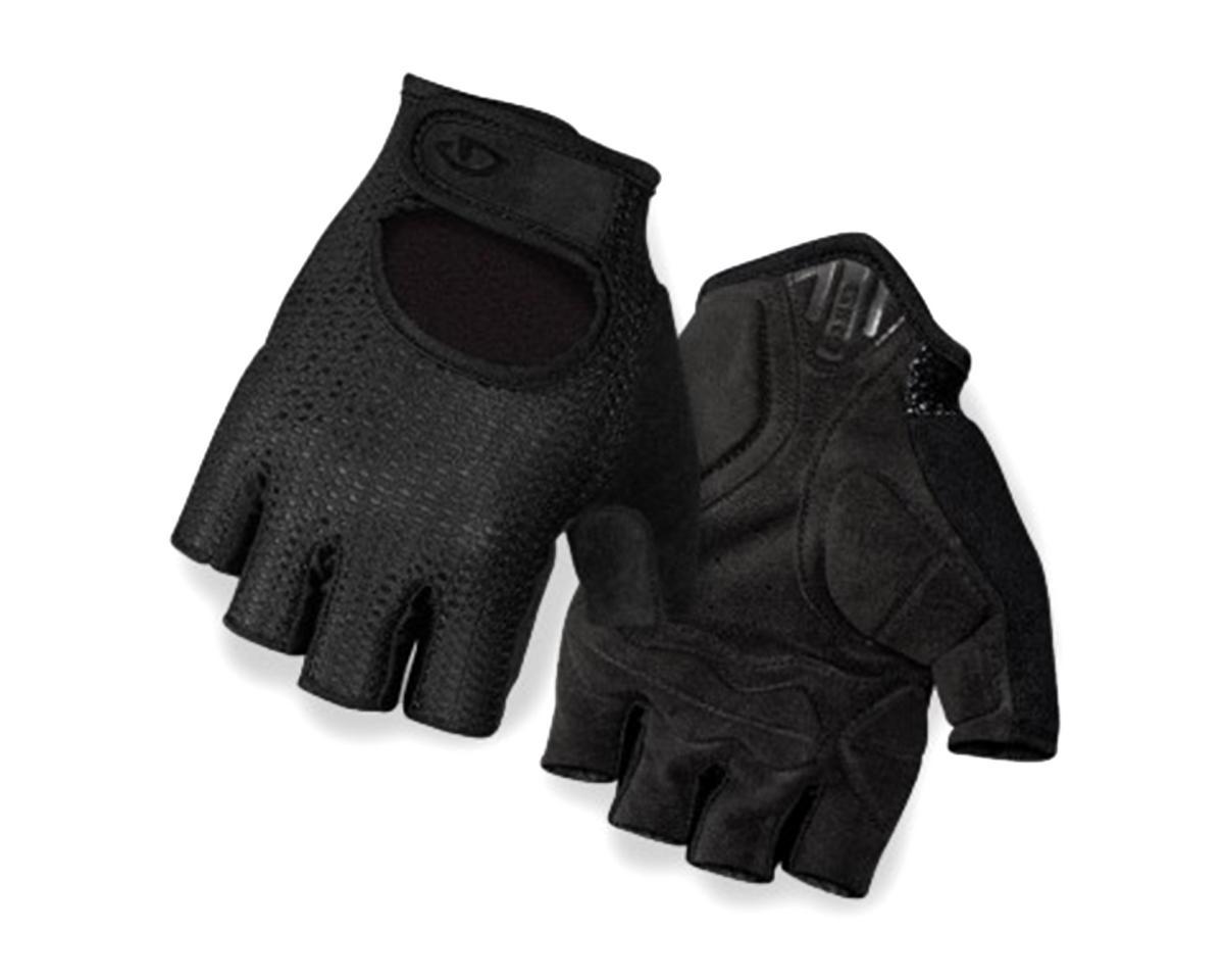 Giro SIV Retro Short Finger Bike Gloves (Black) (L)
