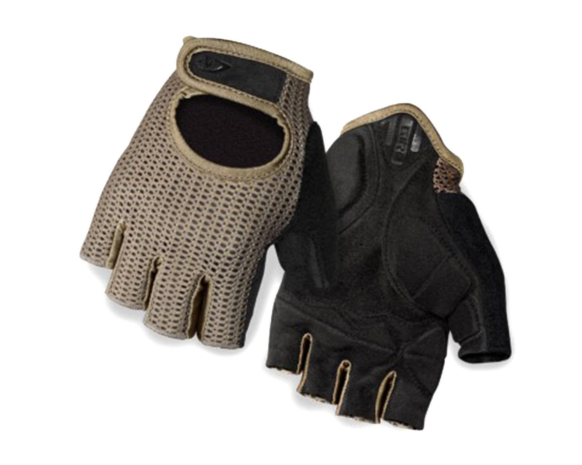 Giro SIV Retro Short Finger Bike Gloves (Mil Spec/Black) (M)