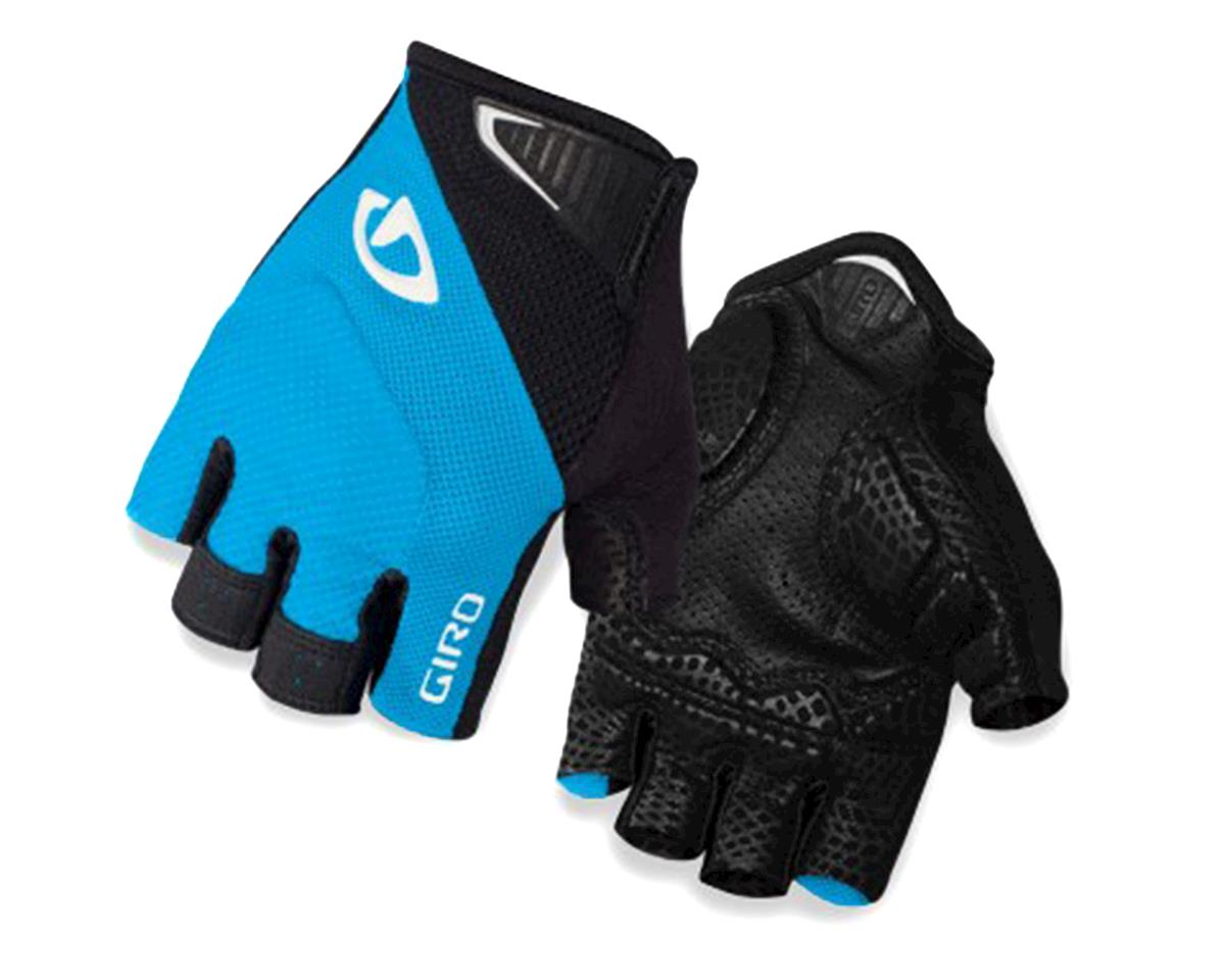Giro Monaco Short Finger Bike Gloves (Blue Jewel/Black) (L)