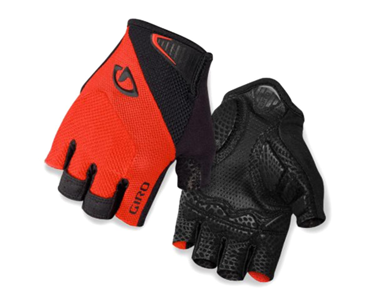 Giro Monaco Short Finger Bike Gloves (Red/Black) (XL)