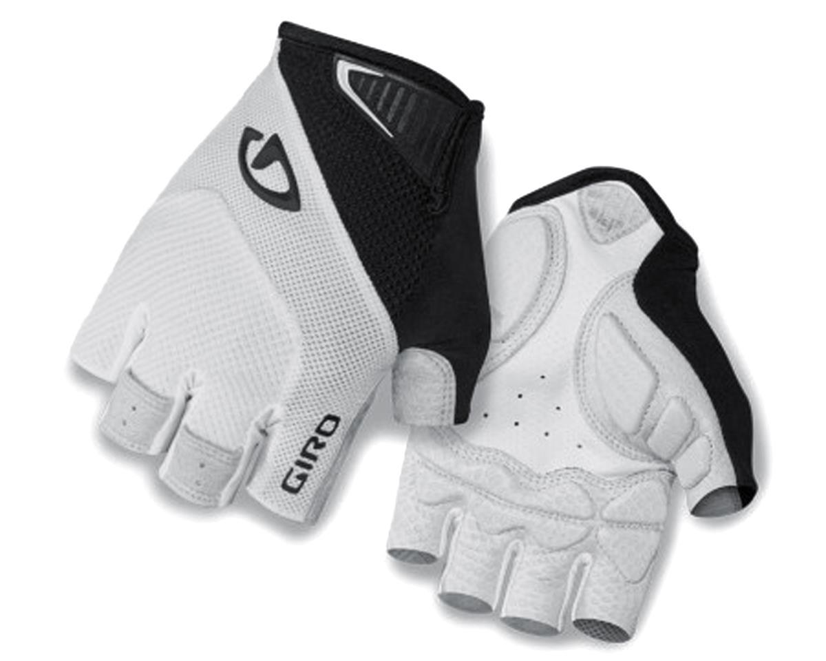 Giro Monaco Short Finger Bike Gloves (White/Black) (2XL)