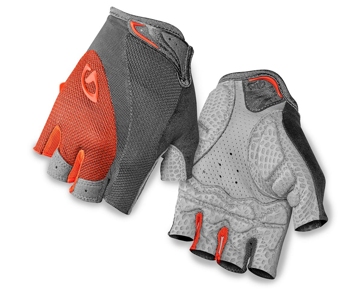 Giro Monica Short Finger Bike Gloves (Red/Dark Shadow) (L)