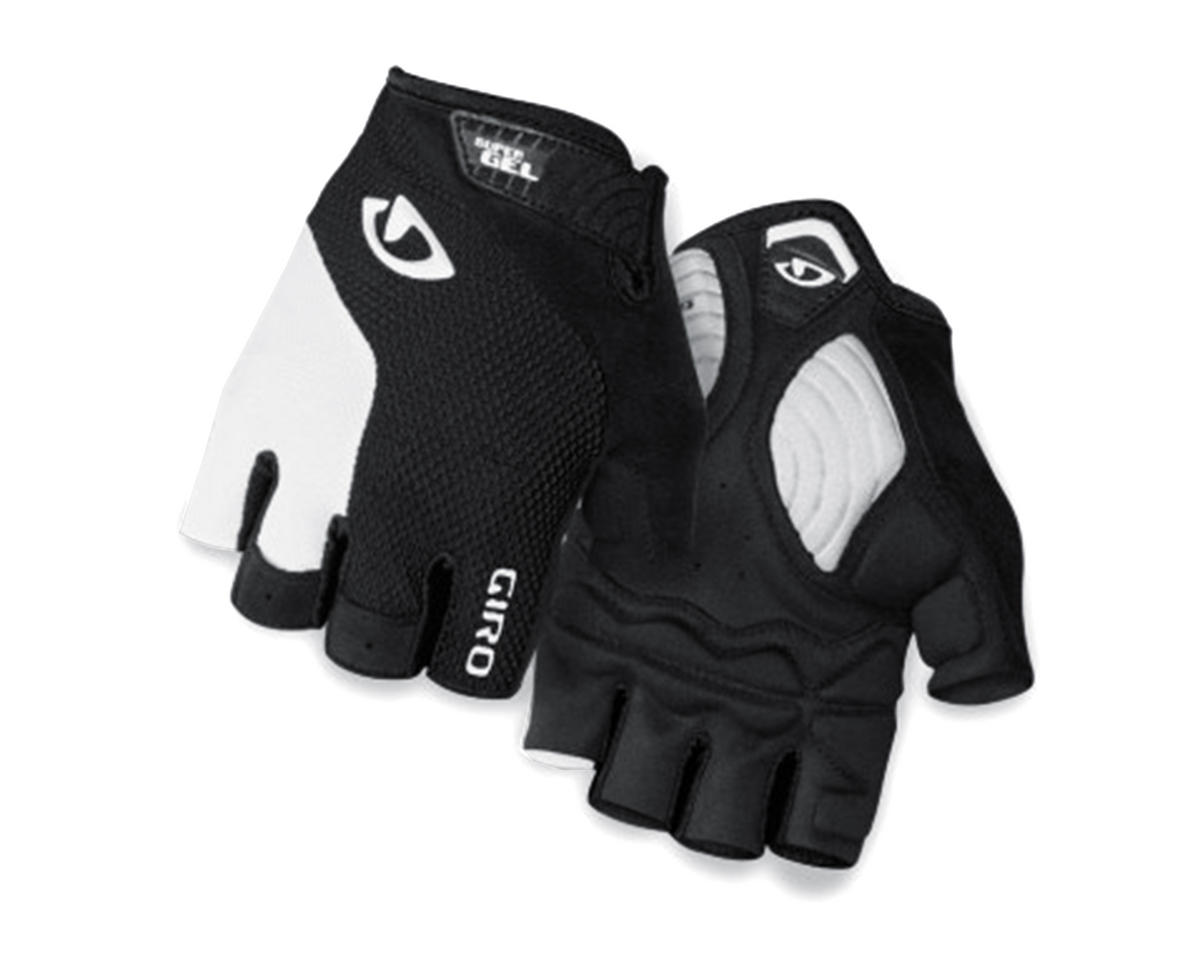 Giro Strade Dure Supergel Short Finger Bike Gloves (White/Black)