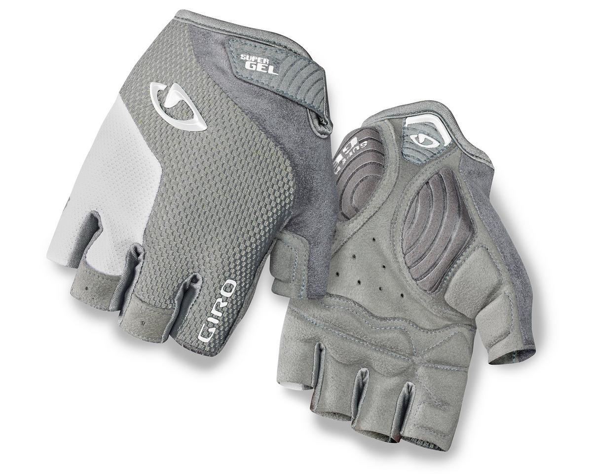 Giro Strada Massa Supergel Women's Bike Gloves (Silver/White) (S)