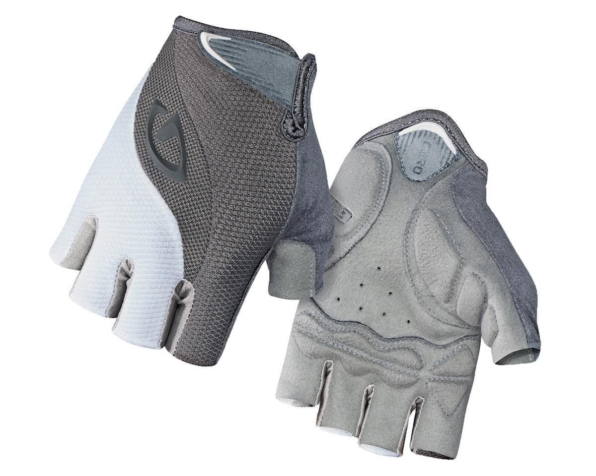 Giro Tessa Gel Women's Cycling Gloves (White/Titanium) (L)