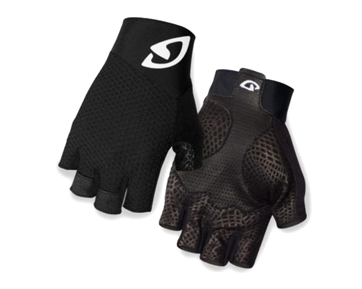 Giro Zero II Short Finger Bike Gloves (Black/White) (L)