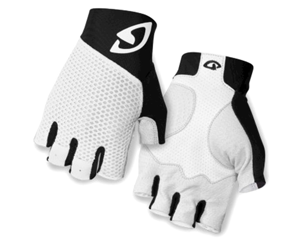 Giro Zero II Short Finger Bike Gloves (White/Black) (L)