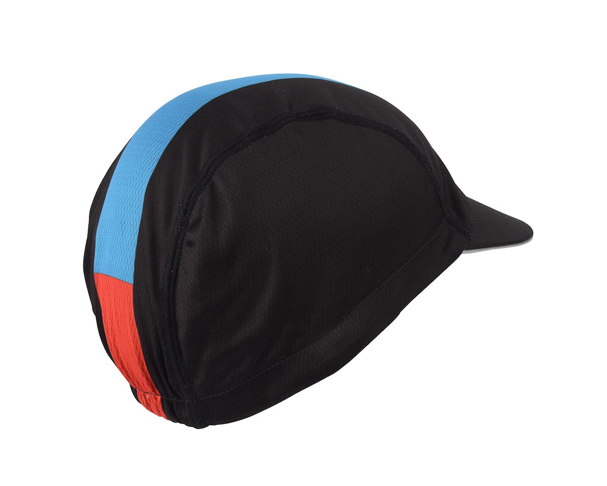 Image 1 for Giro Peloton Cycling Cap (Black/Blue/Red) (One-Size)