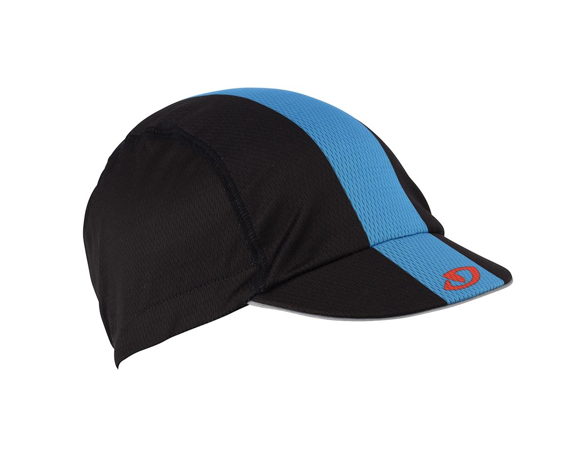 Image 2 for Giro Peloton Cycling Cap (Black/Blue/Red) (One-Size)