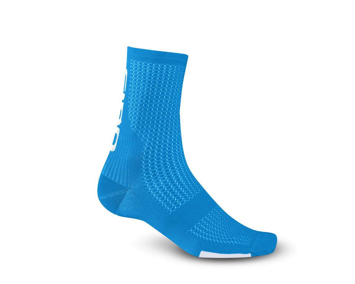 Giro HRc Team Socks (Blue Jewel/White) (L)